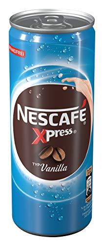 NESCAFÉ Xpress Vanilla, ready to drink Eiskaffee, 1er Pack (1 x 250ml)