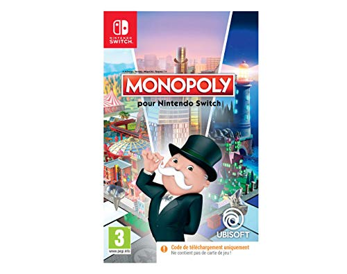 Monopoly Code In Box (Nintendo Switch)
