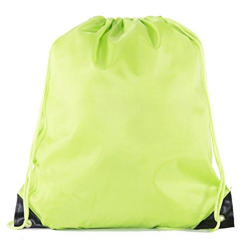 Mato & Hash Kordelzugbeutel, Kordelzug, 15 Farben, 100 Stück erhältlich, Unisex-Erwachsene, lime, 30 Bags