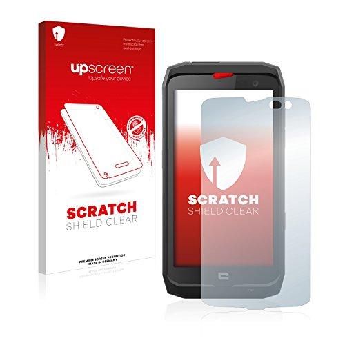 upscreen Schutzfolie kompatibel mit Crosscall Action X3 – Kristallklar, Kratzschutz, Anti-Fingerprint