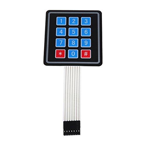 Amazon.co.uk - 3x4 Matrix Keypad Membrane Switch For Arduino 12 Keys
