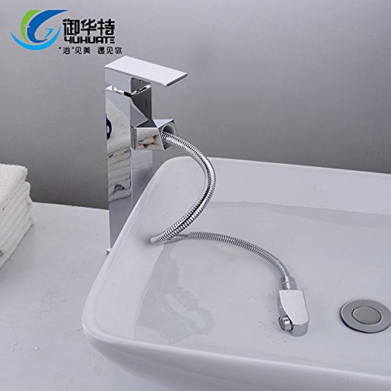 ETERNAL QUALITY Badezimmer Waschbecken Wasserhahn Messing Hahn Waschraum Mischer Mischbatterie Tippen Sie auf die Wasserhhne NAM auf Home Wasserhahn warmes und kaltes Ru