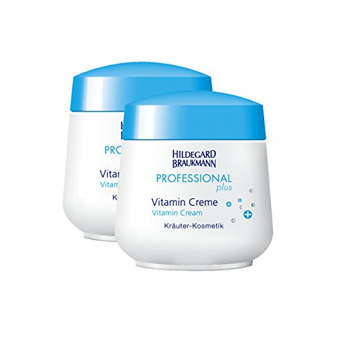 Hildegard Braukmann Professional Plus Vitamin Creme, 2er Pack (2 x 50 ml)