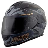 ScorpionExo Unisex-Adult full-face-helmet-style EXO-T510 Helmet (Gray,Medium), 1 Pack