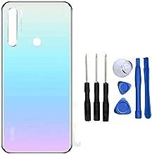 Replacement for Xiaomi Redmi Note 8 Note8 M1908C3JH M1908C3JG M1908C3JI 6.3inch Back Glass Battery Cover Rear Door Housing Case Moonlight White