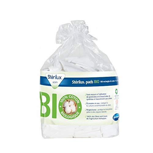 HARTMANN Sterilux Pads Bio Coton 8X10Cm Pack 180