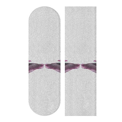 Read About CHXMA Tape Skateboard Sticker, Mandarin Duck Isolated On White 33.1x9.1 Skateboard Long...