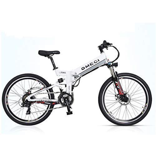 YUNYIHUI Bicicleta eléctrica, Bicicleta eléctrica de 26