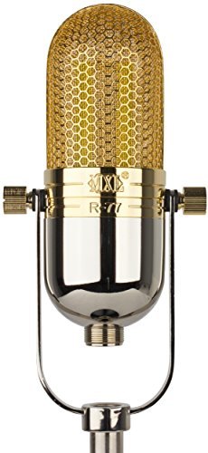 MXL R77L Limited-Edition Classic Ribbon Microphone with Swedish Lundahl...