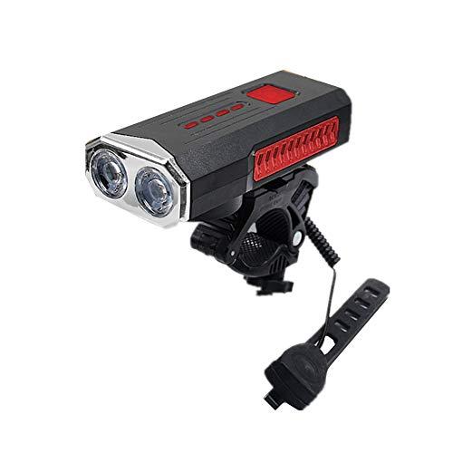 Luces para Bicicletas De MontañA Luz Bici USB Led Luz de Bicicleta Trasero de la Bicicleta Luz para ciclos Luz Trasera de Bicicleta USB Red,One Size
