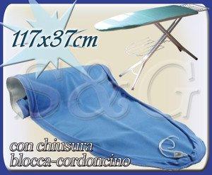 Sconosciuto NOVITA' COPRIASSE IN COTONE CON MOLLETTONE ALTA RESISTENZA 117X37 cm