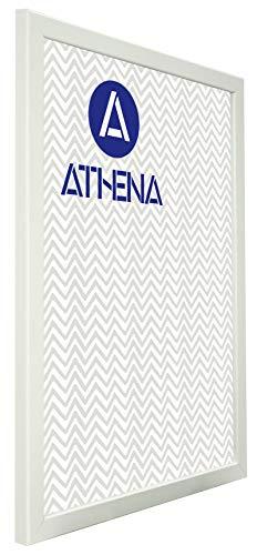 Athena Cadre Photo Blanc Mat, A2 Dimension, 59.4 x 42 cm,