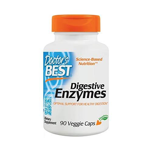 Doctor\'s Best   Verdauungsenzyme (Digestive Enzymes)   90 vegane Kapseln   glutenfrei