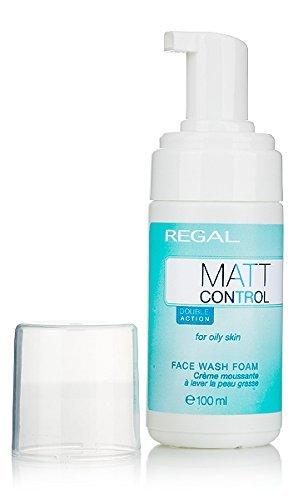Marque REGAL Matt Control - Mousse nettoyante, anti acné, pour peau grasse «REGAL Matt Control» 100 ml