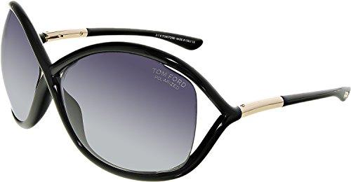 Tom Ford TF 9 Whitney 01D Black Women's Polarized Sunglasses