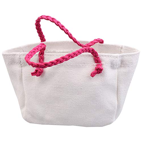 COOFIT Puppentasche Stoff Mini Kreative Einfache Nette Einkaufstasche Puppenzubehör für Puppe