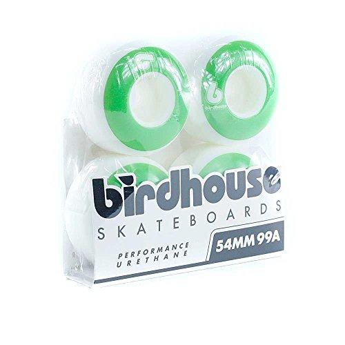 Birdhouse Vogelhaus Skateboards B Logo Skateboard-Rollen grün 54mm