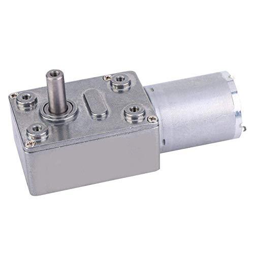 GUONING-L Beschleunigt Reduction Motor, Micro Typ DC Beschleunigt Reducer Große Torsion Schneckengetriebemotor 24V for die Industrie mehrere Zwecke (10 UpM) Werkzeuge