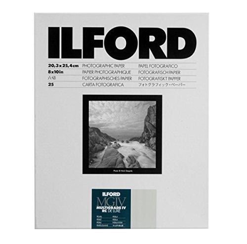 Ilford Multigrade IV RC Deluxe Papier mit Perleffekt, 20 x 25cm, 25Blatt