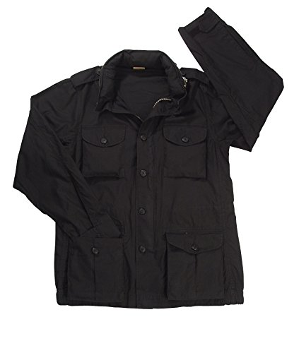 Rothco Vintage Lightweight M-65 Field Jacket, Black, L