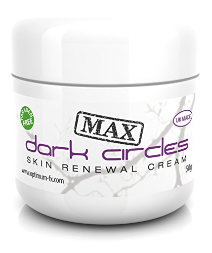 Dark Circles Eye Cream MAX DOUBLE PUISSANCE Crème de Renouvellement de la Peau Pour Cernes - Traiter les Cernes Sous les Yeux en Moins de 60 Secondes