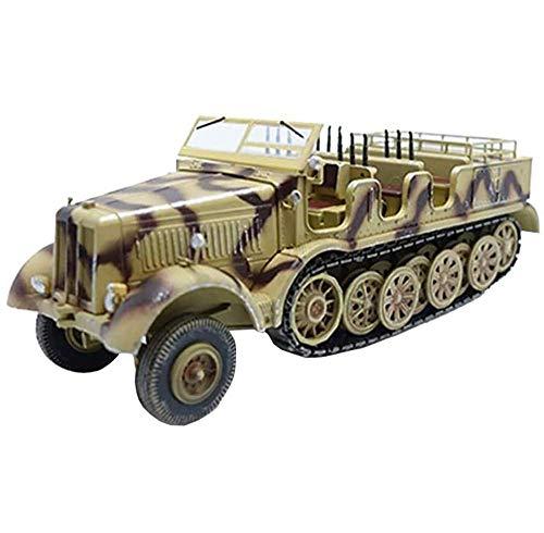 JHSHENGSHI Modelo de Tanque 1/72 Alemania Coche semioruga de 12 toneladas, Juguetes y Regalos Militares, 5.1 Pulgadas y Tiempos; 2 Pulgadas