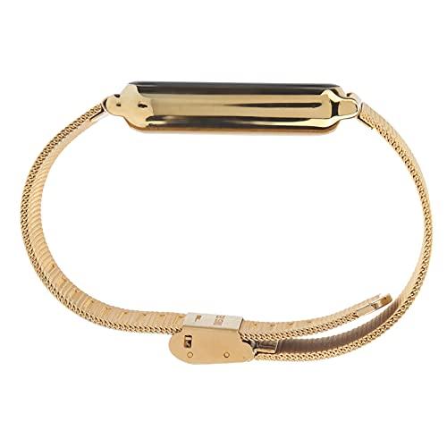 COHU Smart Band, sincronizado con la aplicación Fitness Tracker Fitness Tracker Smart Band con Pantalla a Color IPS de 0,96 Pulgadas para Mejorar la Calidad del sueño(Golden)