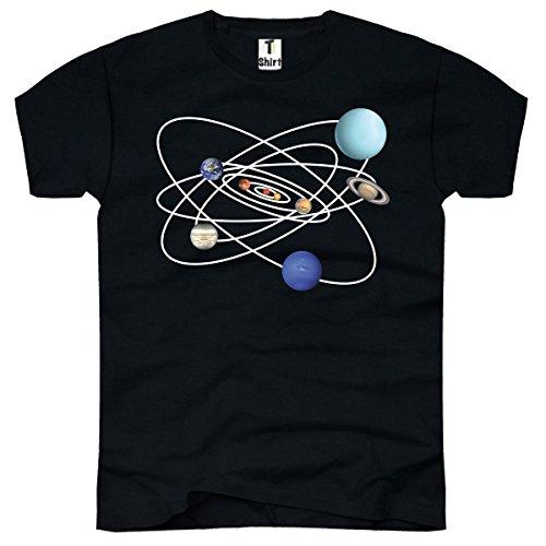 TEE-shirt pour homme-motif système solaire
