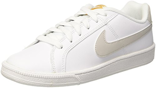 Nike Damen Court Royale Gymnastikschuhe, Weiß (White/light Bone/mineral Yellow 110), 35.5 EU