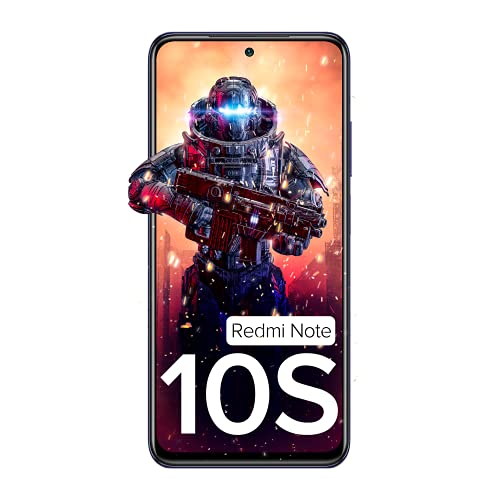 Redmi Note 10S (Cosmic Purple, 6GB RAM, 128GB Storage) - Super Amoled Display   64 MP Quad Camera  NCEMI Offer on HDFC Cards   6 Month Free Screen... 2
