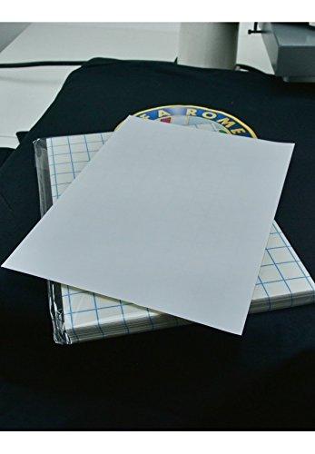 20 Fogli A3 Carta transfer per cotone tessuti scuri stampa inkjet