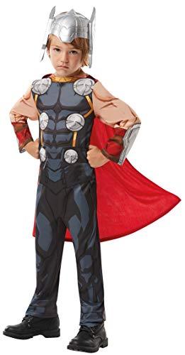 Rubies Marvel Avengers Thor Classic - Disfraz infantil, Color gris, M (640835M)