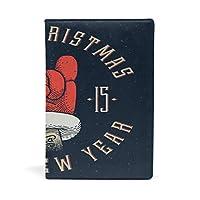 ブックカバー 文庫 a5 本 カバー 革 レザー クリスマス 手 手袋 紺色 古ぶり ファッション おしゃれ かわいい 文庫本カバー ファイル 資料 収納入れ オフィス用品 読書 雑貨 プレゼント