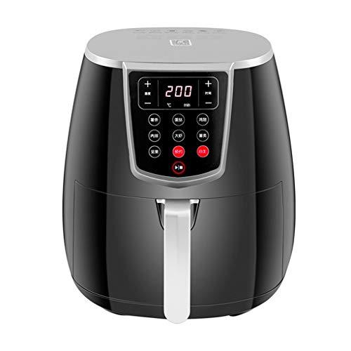 Freidora de aire sin aceite, Eléctrica de aire caliente de la freidora -3.5L del LED con pantalla táctil digital -no Freír las patatas fritas horno con termostato y temporizador - Cesta antiadherente