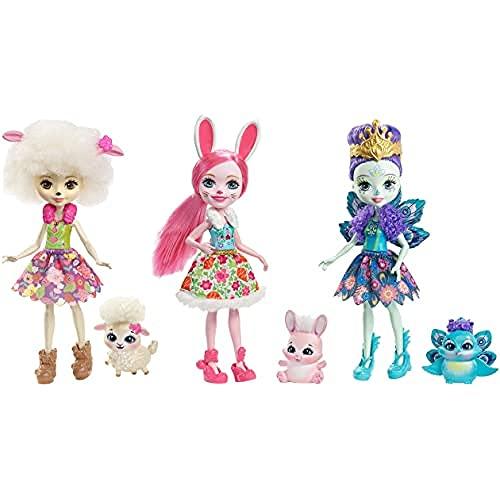 Enchantimals Pack de 3 muñecas (Mattel FMG18)