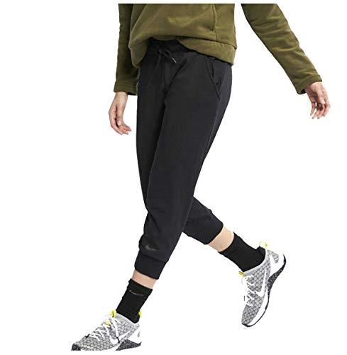 Nike Crop Endurance - Pantaloni Capri da Donna, Taglia L, Colore: Nero