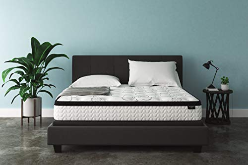Signature Design by Ashley - 12 Inch Chime Express Hybrid Innerspring - Firm Mattress - Bed in a Box - King - White