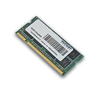 Patriot Memory Serie Signature SODIMM Memoria RAM DDR2 800 MHz PC2-6400 2GB (1x2GB) C6 - PSD22G8002S (B0012C1BQW) | Amazon price tracker / tracking, Amazon price history charts, Amazon price watches, Amazon price drop alerts