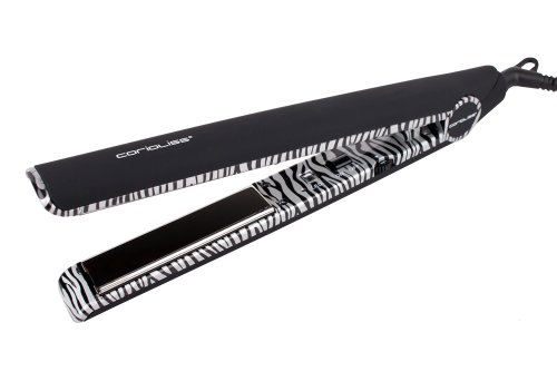 Corioliss C1 Platinum Zebra Hair Straightener Styling Iron