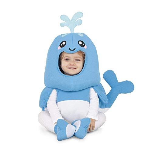 My Other Me Disfraz de Ballena Azul para bebé
