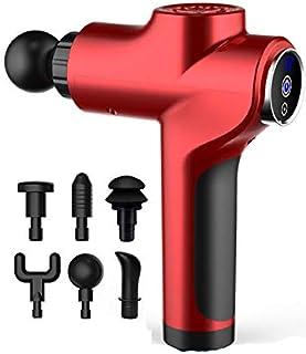 Zealite Fascia Gun Muscle Relaxation Massage Gun Deep Tissue Handheld Percussion Massager Fitness Bar Deep Vibration 10-Sp...