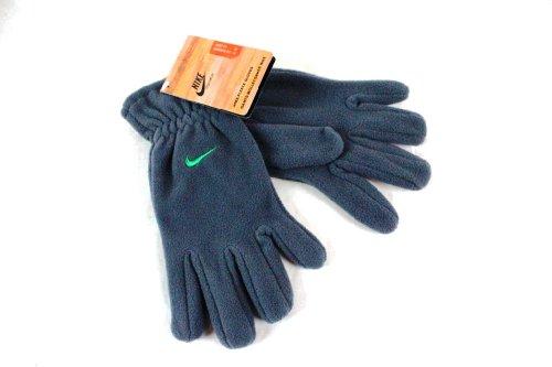 Nike Guanti in pile per bambini, guanti sportivi, per sport invernali, colore grigio grigio