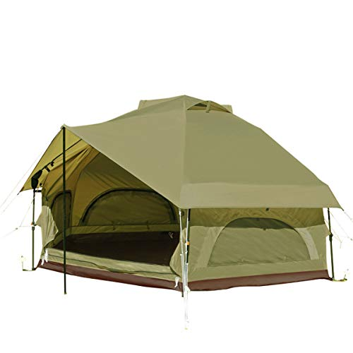 DOD(ディーオーディー) キノコテント かわいい 簡単 ワンタッチ テント T4-610-KH