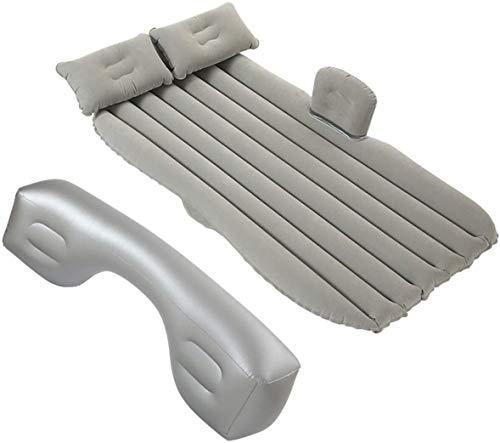 Cama portable de aire del coche bomba de aire con colchón inflable del amortiguador de camping universal SUV Extended Couch for del resto del sueño y Motion acogedor e íntimo Jialele ( Color : Grey )