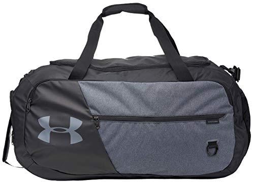 Under Armour Undeniable Duffle 4.0 Gym Bag, Black (002)/Black Medium Heather, Large