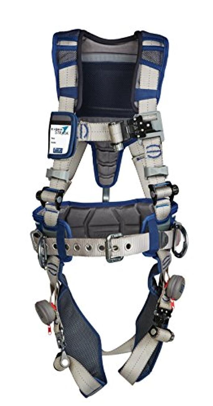 回転保険をかける類推DBI/Sala 1112538 DBI STRATA, Aluminum Back/Side D-Rings, Tri-Lock Revolver QC Buckles with Sewn in Hip Pad/Belt, X-Large, Blue/Gray by DBI-Sala