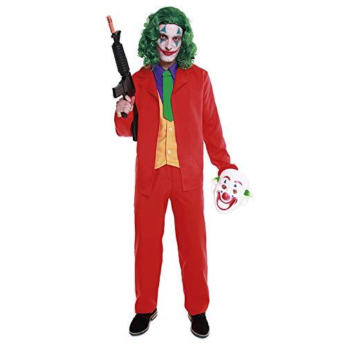 Disfraz Mad Clown Joker Hombre Cine y TV (Talla L) (+ Tallas)