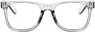 Unisex Blue Light Blocking Glasses Square/Half Frame...