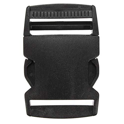 NA DIY & EDC Multitools Release Schnalle aus schwarzem Kunststoff Gurtband Side Kinder Erwachsene (Size : 40mm)