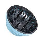 Anself Diffusore per asciugacapelli, diffusore per asciugacapelli regolabile per accessori per capelli ricci o ondulati Adatto alla maggior parte degli asciugacapelli